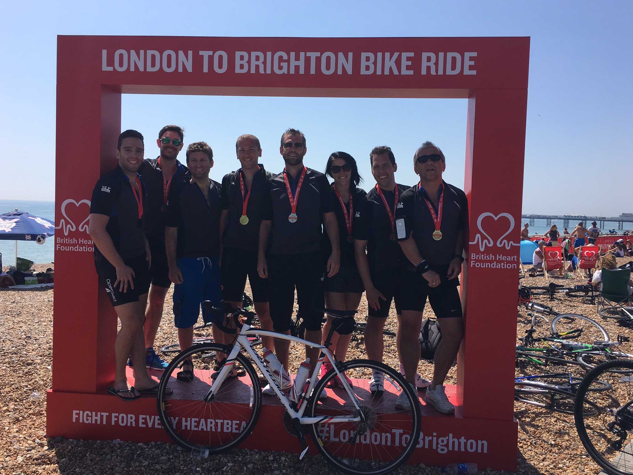 London To Brighton Cycle 2017 >> NLPFM Staff Cycle for Charity!   NLP Financial Management